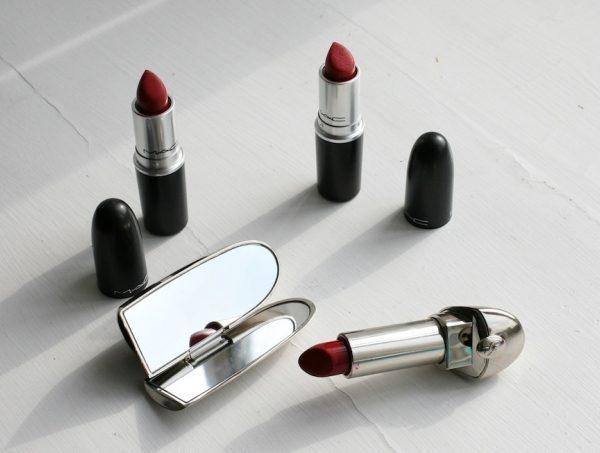 Røde læbestifter