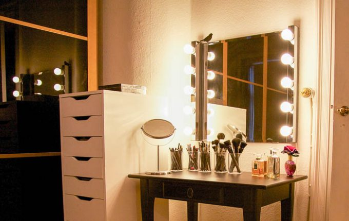 IKEA Musik og Kolja hollywood spejl