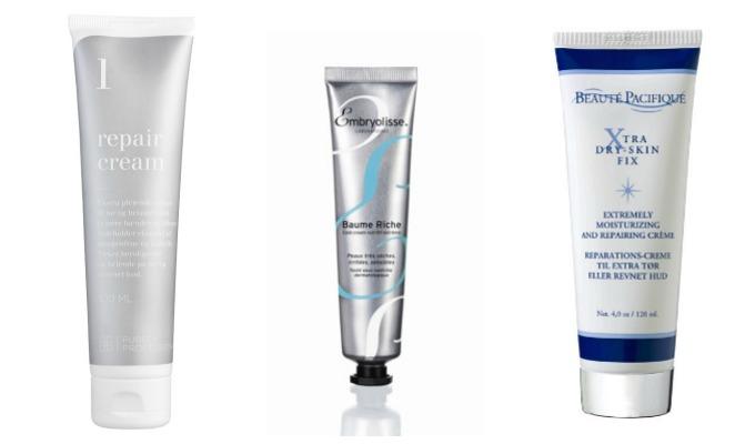Cremer til tør hud fra Purely Professional, Embryolisse og Beauté Pacifique