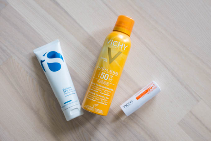 Solcremer fra Vichy og IS by IS Clinical