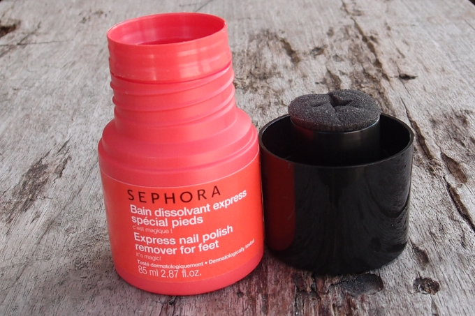 Sephora Express Nail Polish Remover For Feet