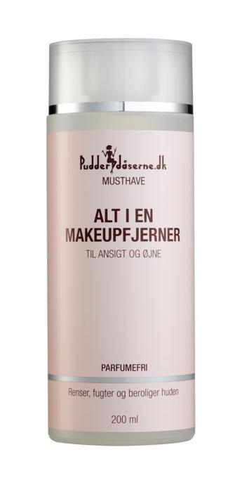 Pudderdåserne Alt i en makeupfjerner