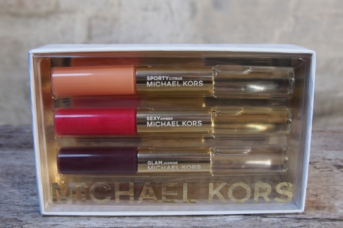 Michael Kors Sporty Sexy Glam Rollerball & Lip Luster Gift Set