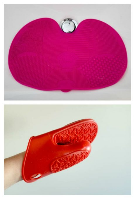 Sigma Spa Brush Cleaning Mat vs IKEA grillhandske