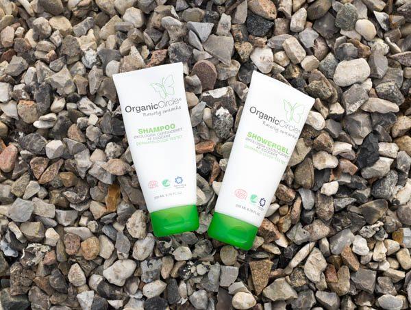 Organic Circle shampoo og showergel