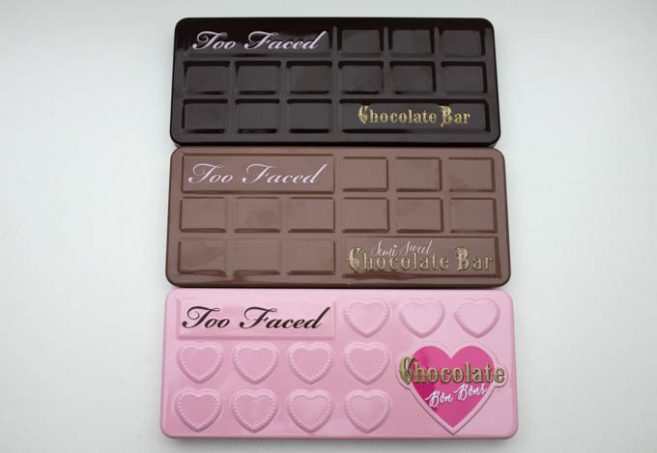 Too Faced Chocolate Eyeshadow Bars