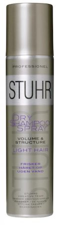 Stuhr Dry Shampoo Spray Light Hair