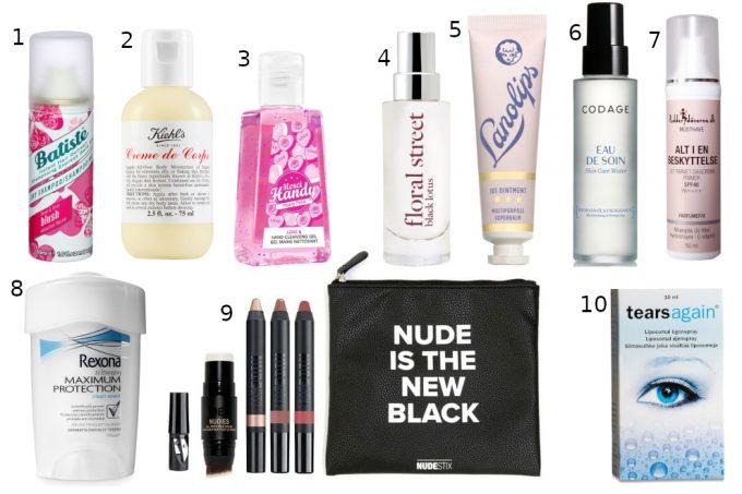 Torsdags top ti: Nødvendigheder til håndbagagen