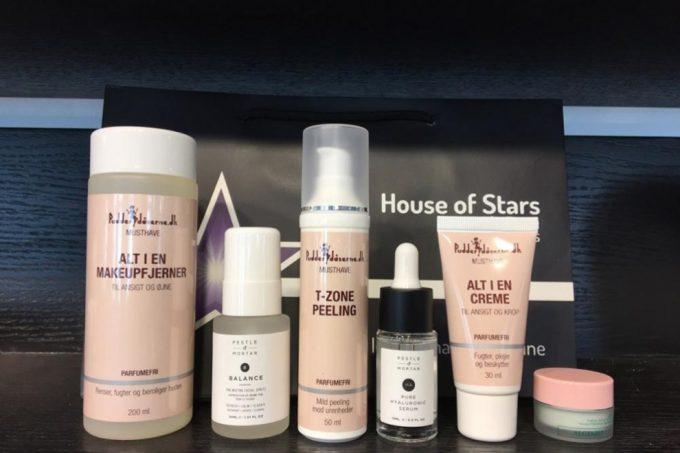 House of Stars X Pudderdåserne hudplejesæt