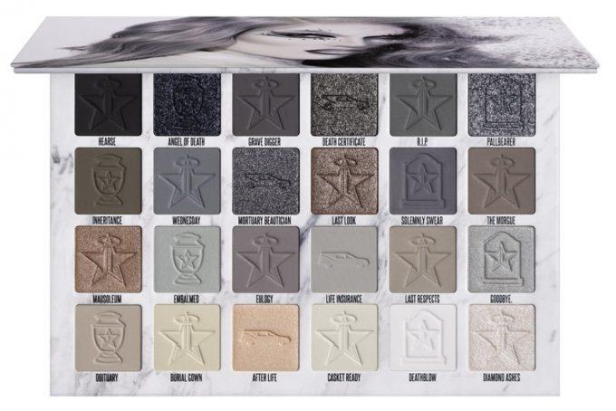 Fredagsfavorit: Jeffree Star Cosmetics Cremated Palette