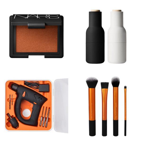 Produkter med gummibelægning