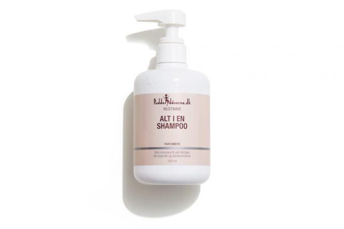 Pudderdåsernes Alt i en Shampoo