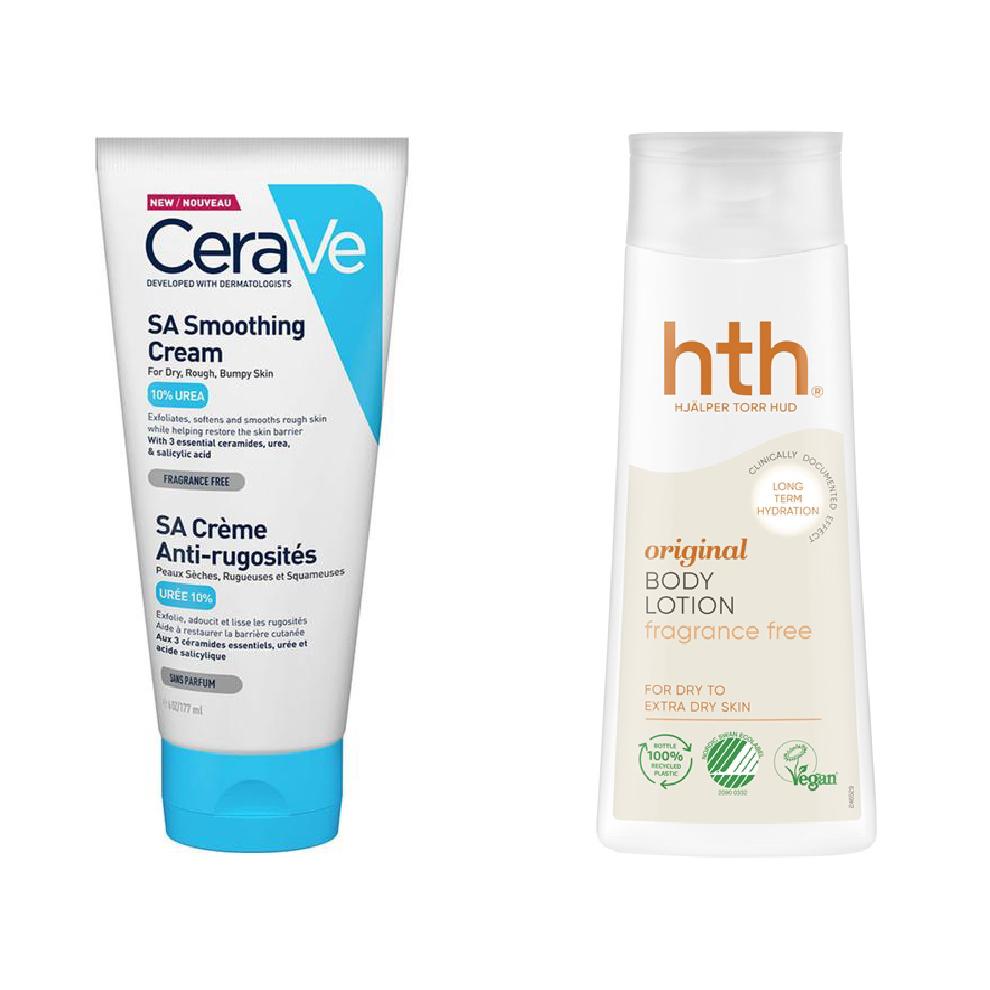 CeraVe og HTH creme